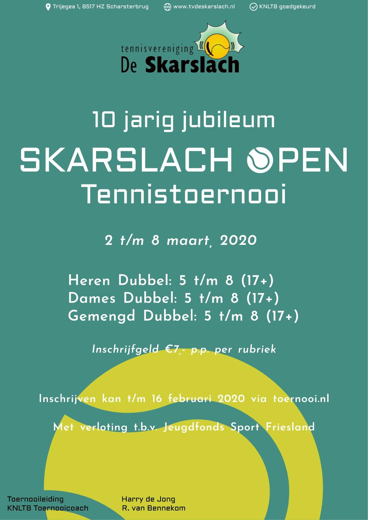 Skarslach Open 2020